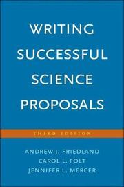 Writing Successful Science Proposals by Andrew J. Friedland image