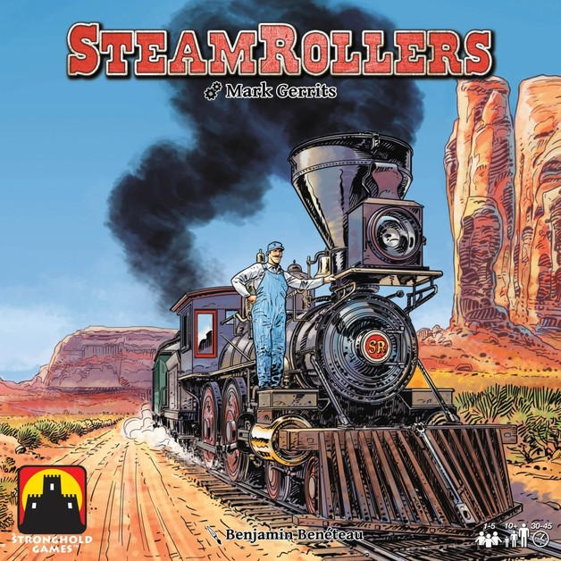 Steamrollers - Board Game