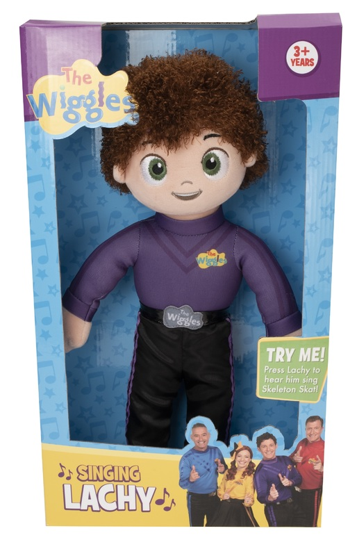 The Wiggles: Singing Plush - Lachy
