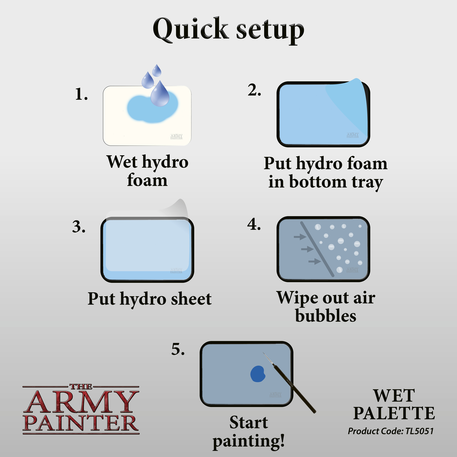 Army Painter Wet Palette image