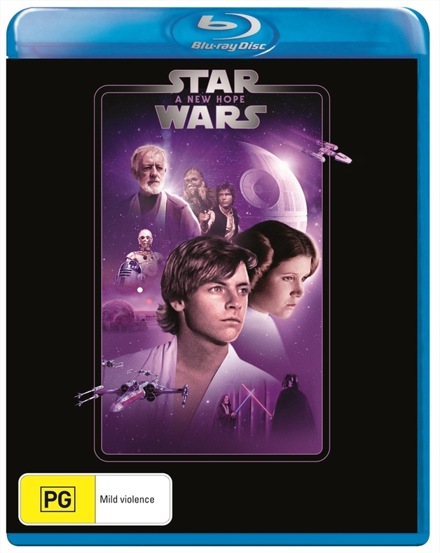 Star Wars: Episode IV - A New Hope on Blu-ray