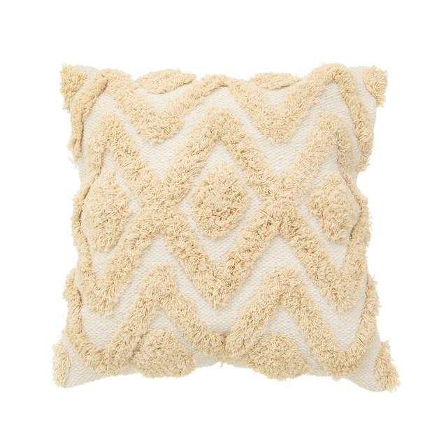 Sass & Belle: Blanca Tufted Diamond Cushion