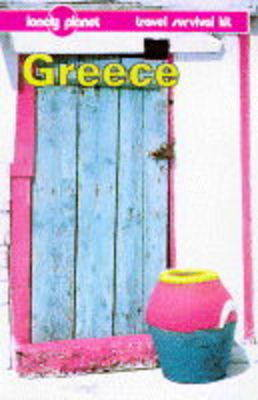 Greece: A Travel Survival Kit by Rosemary Hall image