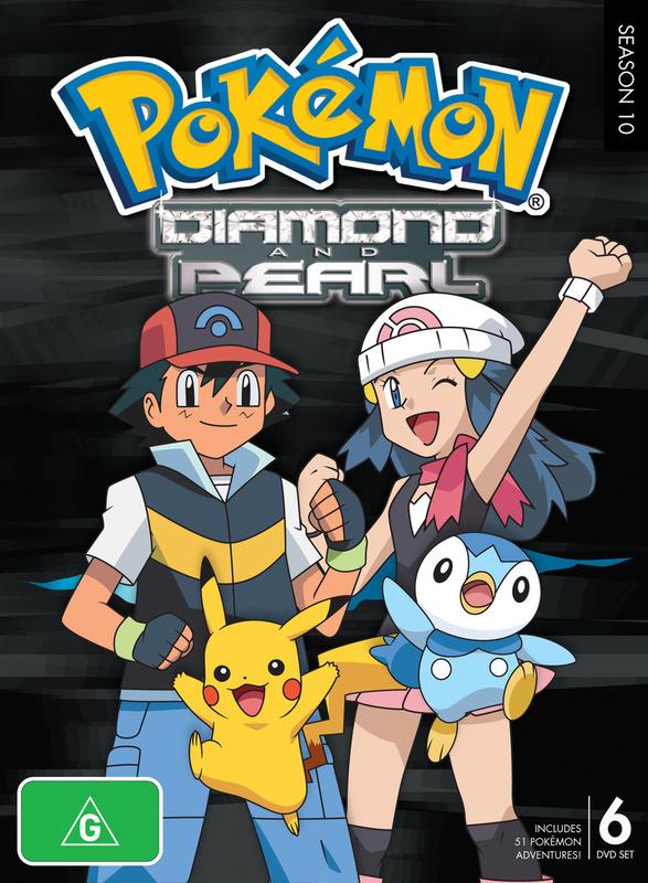 Pokemon - Season 10: Diamond and Pearl on DVD