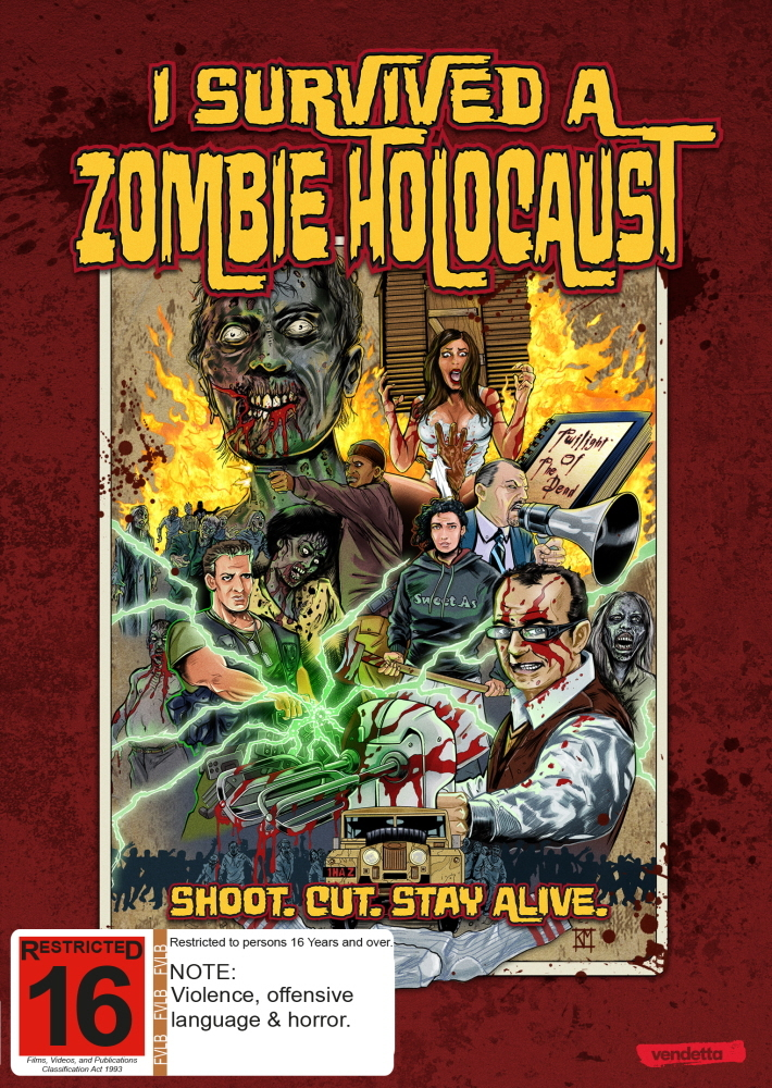 I Survived A Zombie Holocaust on DVD image