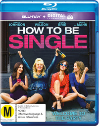 How To Be Single on Blu-ray, UV