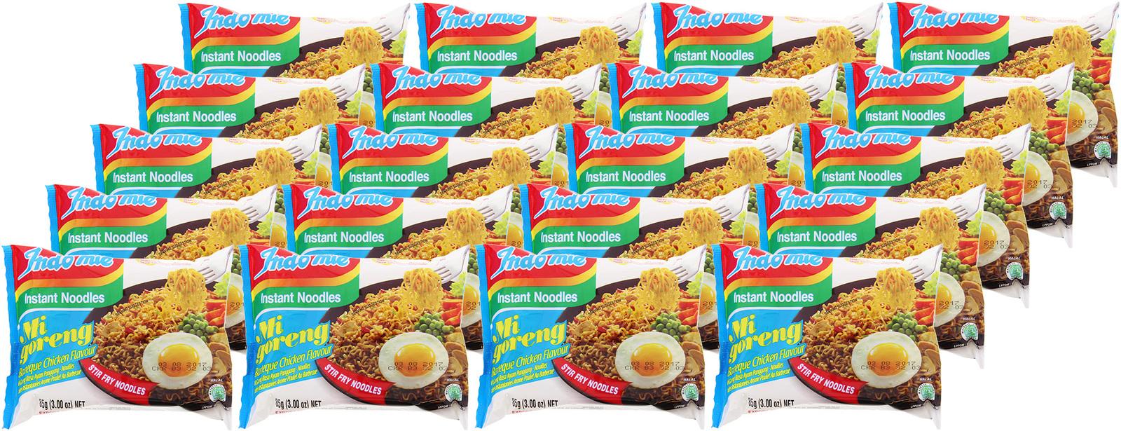 Indomie Mi Goreng Noodles - BBQ Chicken 85g (20 Pack) image