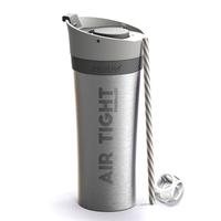 Asobu Fresh N Go Double Wall Shaker Tumbler - Silver (500ml)