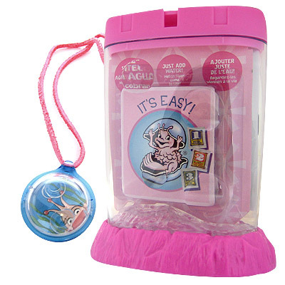 Live Sea Monkeys Kit With Friendship Locket Toy At