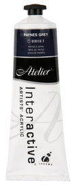 Atelier: Interactive Artists' Acrylic Paint - Paynes Grey (80ml)