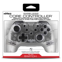 Nyko Switch Wireless Core Controller (Clear) for Switch