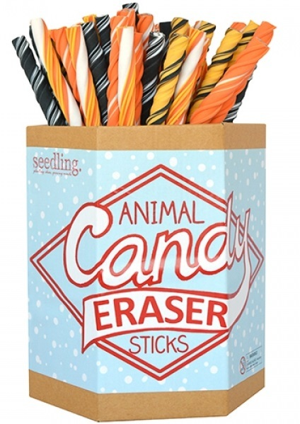 Seedling: Animal Candy - Eraser Stick (Assorted Designs)