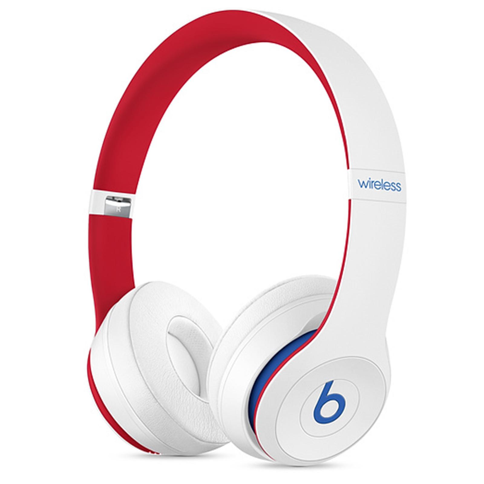 Beats Solo3 Wireless On-Ear Headphones - Club White image