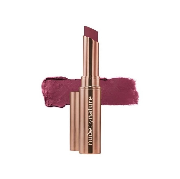 Nude By Nature: Matte Lipstick - #09 Roseberry image