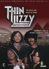 Thin Lizzy - The Boys Are Back In Town on DVD