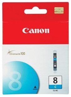 Canon Ink Cartridge - CLI8C (Cyan)