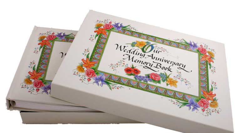 Buy our wedding anniversary memory book at mighty ape