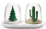 Qualy Winter and Summer Salt and Pepper Shaker