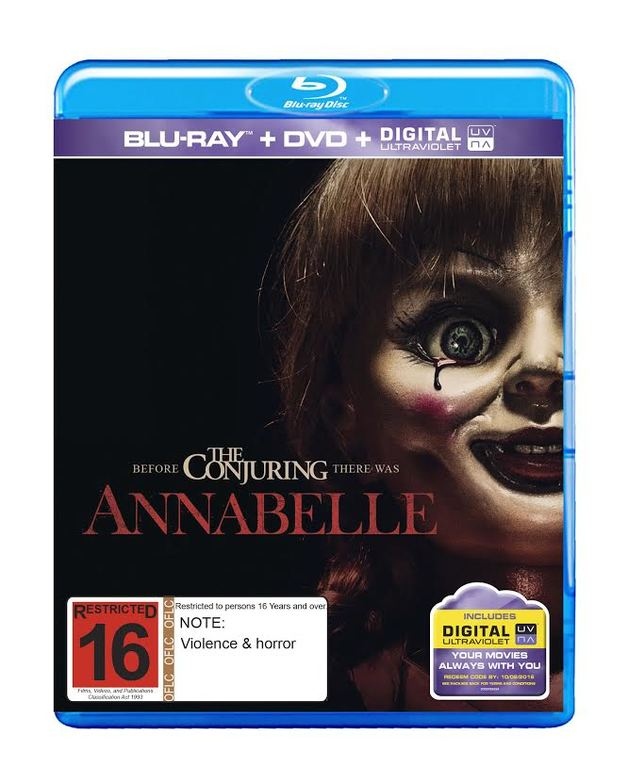 Annabelle on Blu-ray