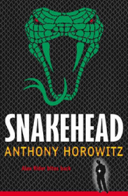 Snakehead (Alex Rider #7) (black cover) by Anthony Horowitz image