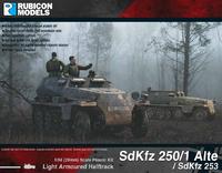 Rubicon 1/56 SdKfz 250/1 Alte / SdKfz 253
