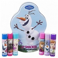 Lip Smackers 6 Piece Frozen Olaf Tin