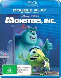 Monsters, Inc on Blu-ray image