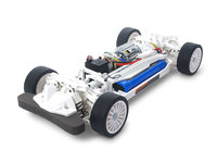 Tamiya: 1/10 TT-02 Chassis (White Special) - RC Model Kit