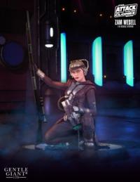 """Star Wars: Zam Wessel - 8"""" Statue"""