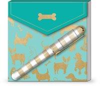 Lady Jayne: Matchbox Notepad - Dog Silhouettes