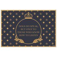 Fine Dining Pet Placemats - Dogs Speak