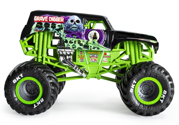 Monster Jam: 1:24 Scale Diecast Truck - Grave Digger