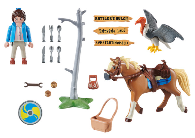 Playmobil: The Movie - Marla with Horse (70072)