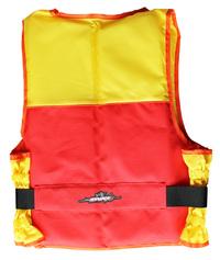 Menace Hercules Sports Life Jacket Adult   Size: Large (Yellow/Red)
