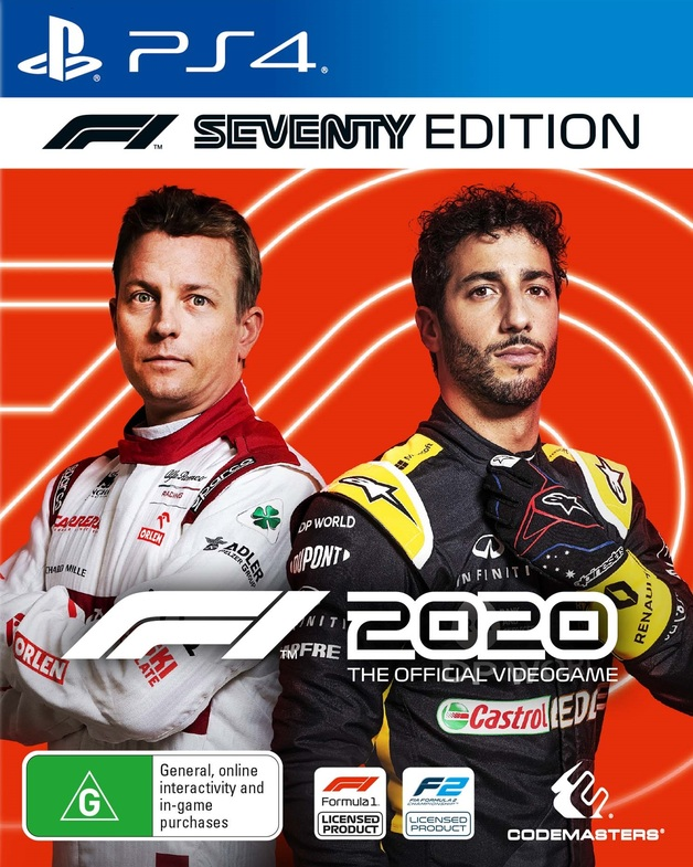 F1 2020 70th Anniversary Edition for PS4