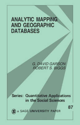 Analytic Mapping and Geographic Databases by G.David Garson image
