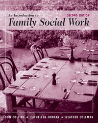 An Introduction to Family Social Work by Cathleen Jordan image
