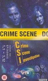 CSI Season 1 Vol. 1 (VHS) on DVD