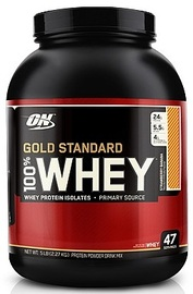 Optimum Nutrition Gold Standard 100% Whey - Strawberry Banana (2.27kg)
