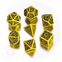 Celtic 3D Yellow Black Dice Set