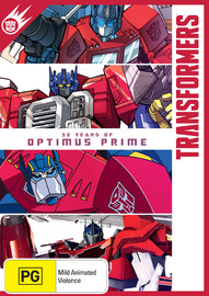 Transformers: 30 Years Of Optimus Prime on DVD