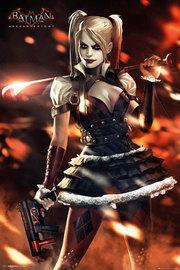 Batman Arkham Knight - Harley Quinn Fire Maxi Poster (329)