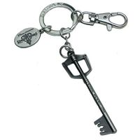 Kingdom Hearts Pewter Keyring - Sora's Sword