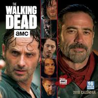 The Walking Dead, AMC 2018 Square Wall Calendar by AMC