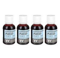 Thermaltake: Premium Contentrate Coolant - Red (50ml) 4 Pack