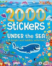 2000 Stickers Under the Sea by Parragon Books Ltd image