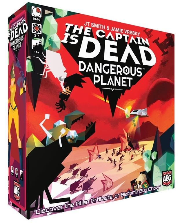 The Captain is Dead: Dangerous Planet - Board Game