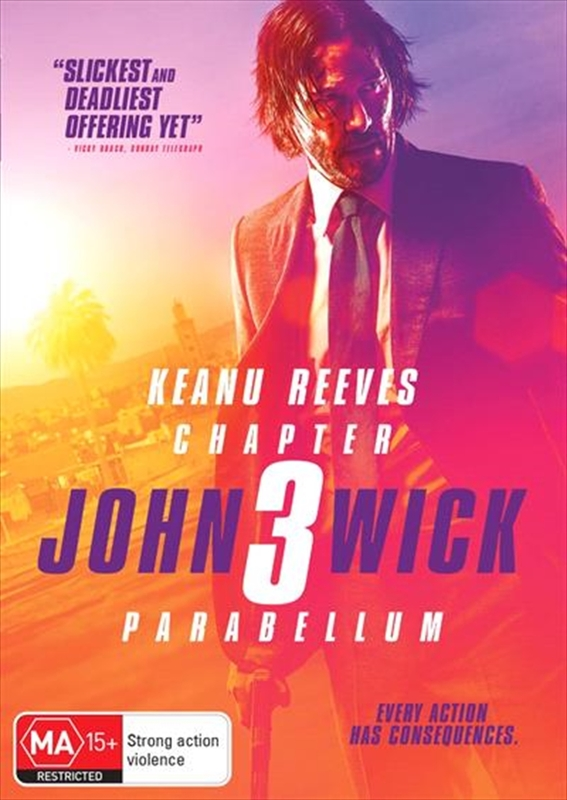 John Wick: Chapter 3 - Parabellum on DVD