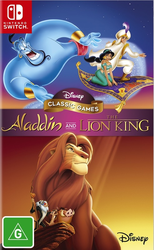Aladdin & the Lion King for Switch
