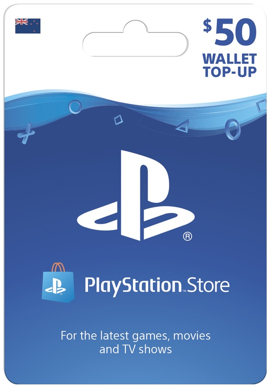 PlayStation Store $50 Wallet Top-Up (Digital Code) for